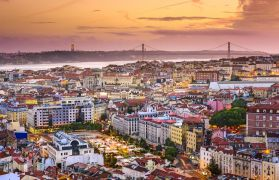 A day of strolling and shopping around Lisbon